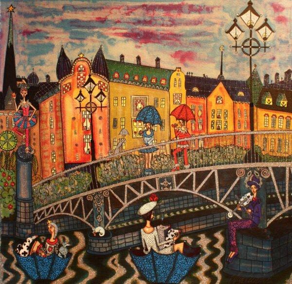 Djurgårdsbron by Angelica Wiik