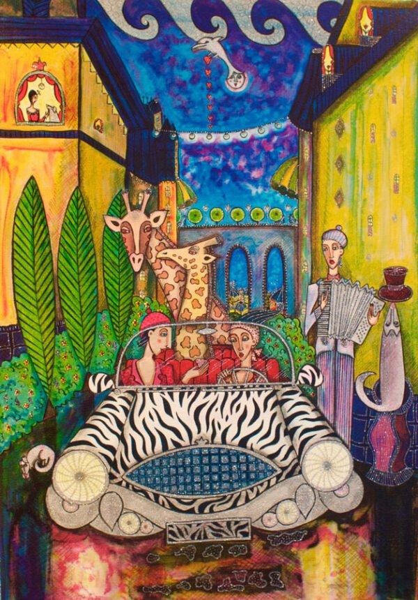 Nattljus by Angelica Wiik