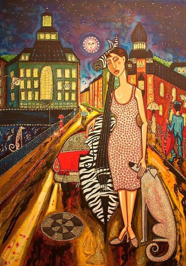 Stockholmsnatt by Angelica Wiik